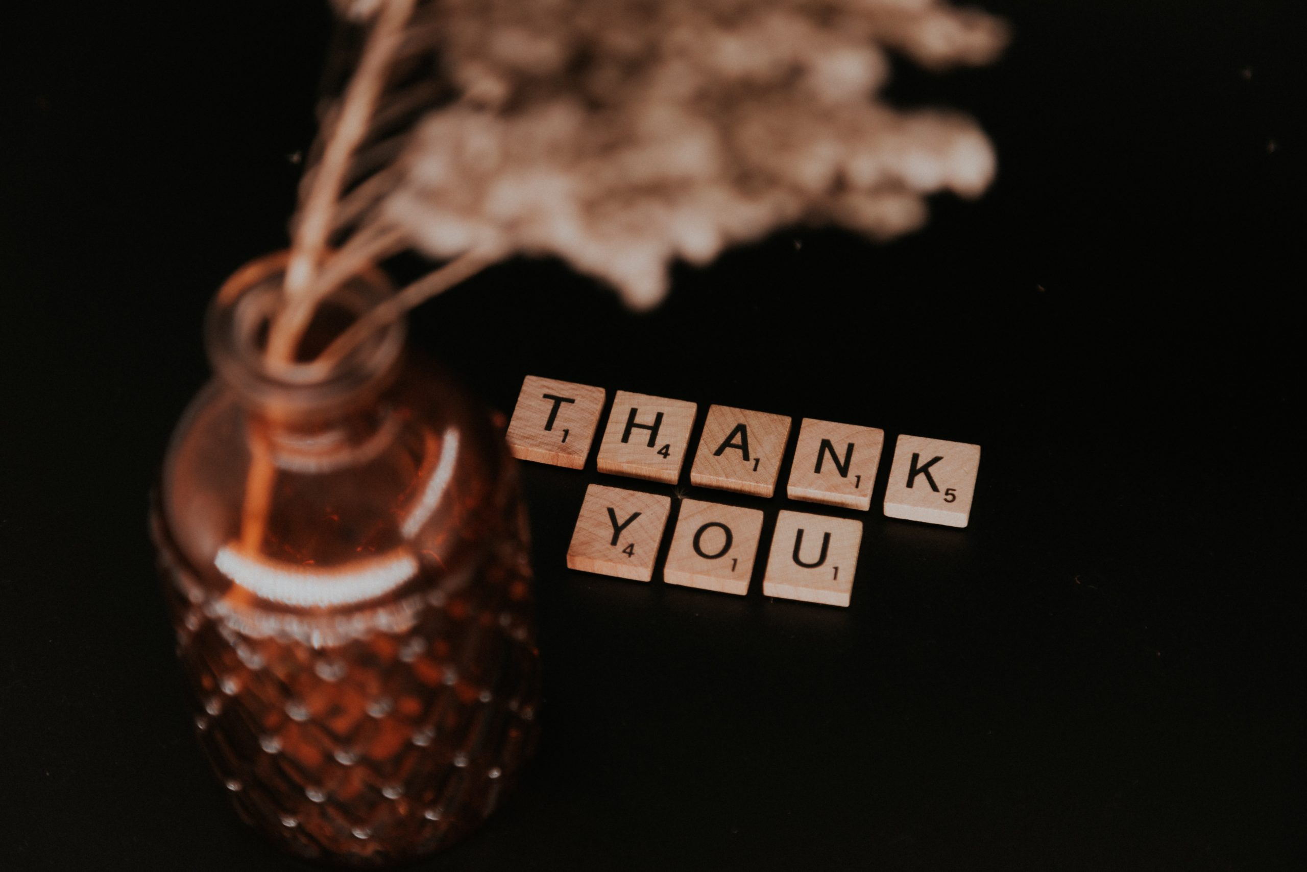 An intention of gratitude